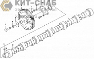 Camshaft assembly 630-1006000a/02