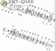 43C0013 004 ARTICULATION HITCH AS