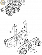 REAR AXLE AS (STANDARD) 01E0116004