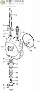 B6800I13 STABILIZER VALVE SECTION