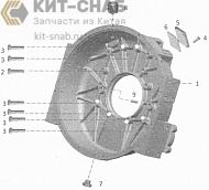 FLYWHEEL HOUSING G03710160