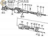 B6800G2 STEERING GEAR ASSEMBLY